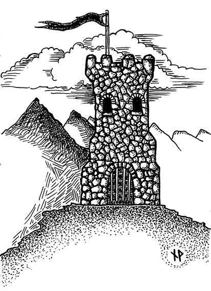 The tower of the missing knight