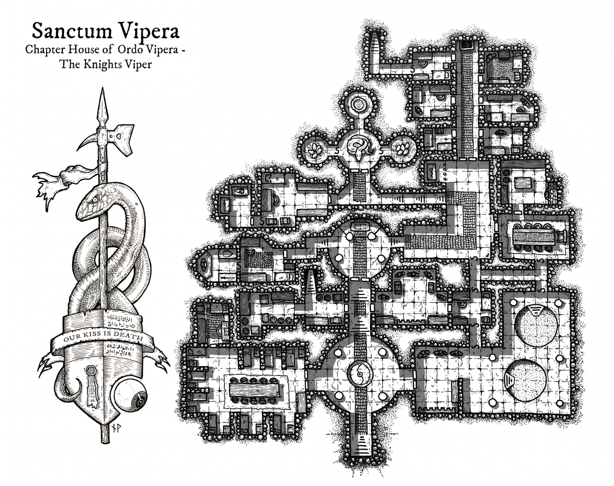 Sanctum Vipera – chapter house of the Knights Viper