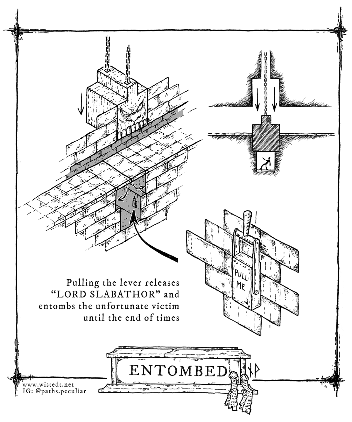 Dungeon pit trap – Entombed